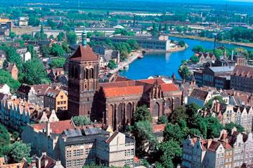 Польский город Гданьск - отличный курорт и сокровищница исторического наследия